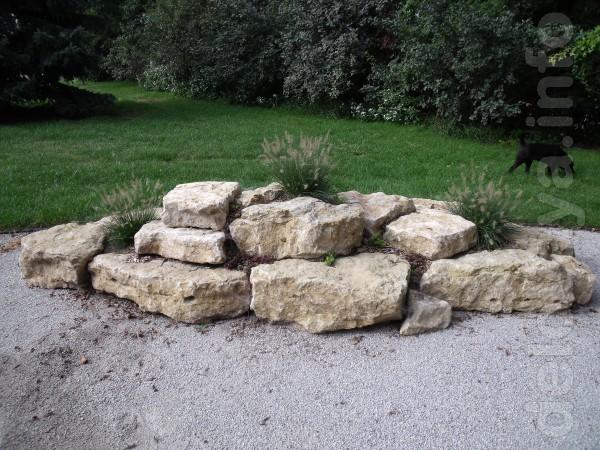 Природный дикий камень для строительства оград и клумб!