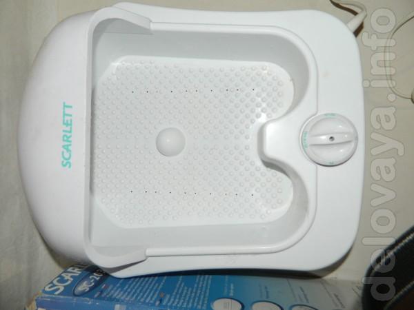 Рабочая ванна - массажер. Несколько режимов вибрации. Воду не греет.