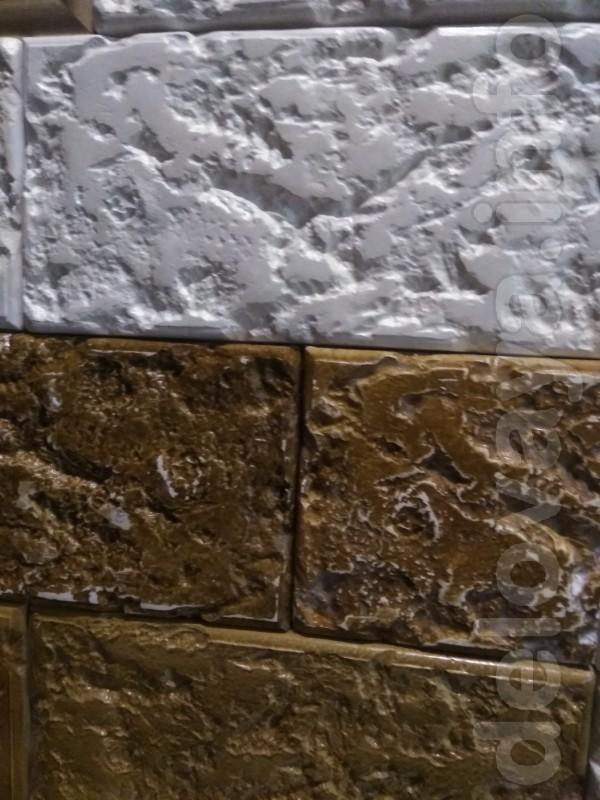 Декоративный  гипсовый  камень  ракушняк.  Размер 295x150 мм.  S 1шт