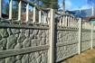 Глянцевые еврозаборы, тротуарная плитка, ворота, калитки, оградки, па фото № 1