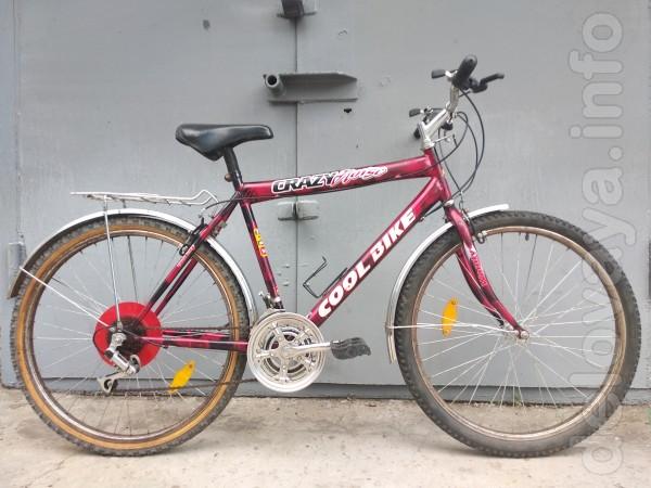 Велосипед в хорошем состоянии.Колеса 26 дюймов.24 скорости.Тормоза V-