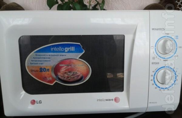 Продам микроволновую печь LG б/у в отличном состоянии. Функции: автоп