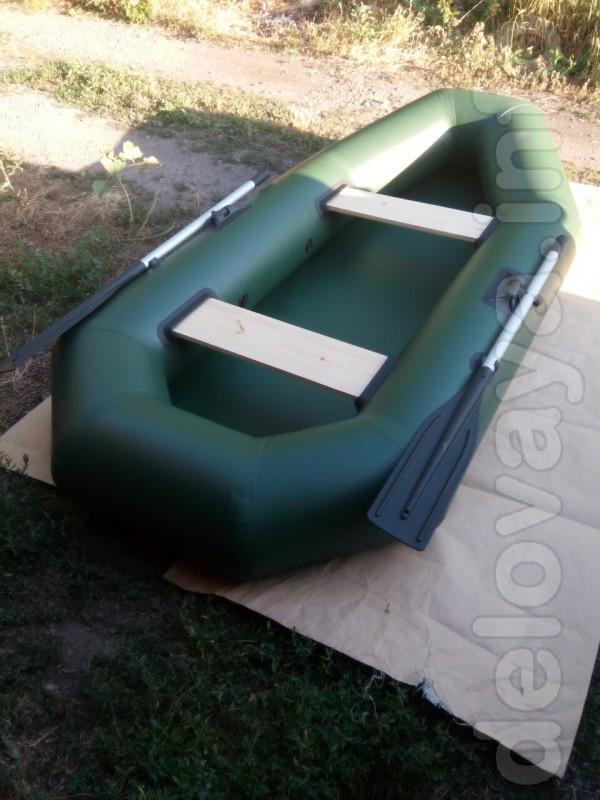 В наличии! Двухместная,двухкамерная   надувная гребная лодка пвх. Бал