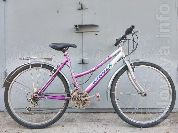 Велосипед в хорошем состоянии.Колеса 26 дюймов.18 скоростей.Тормоза V