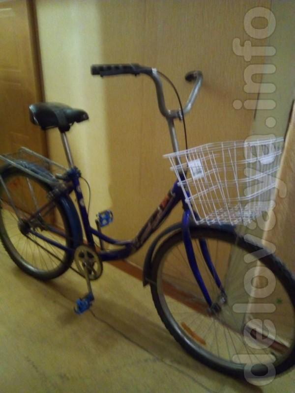 Отличный велосипед в хорошем состоянии.Замок в подарок.