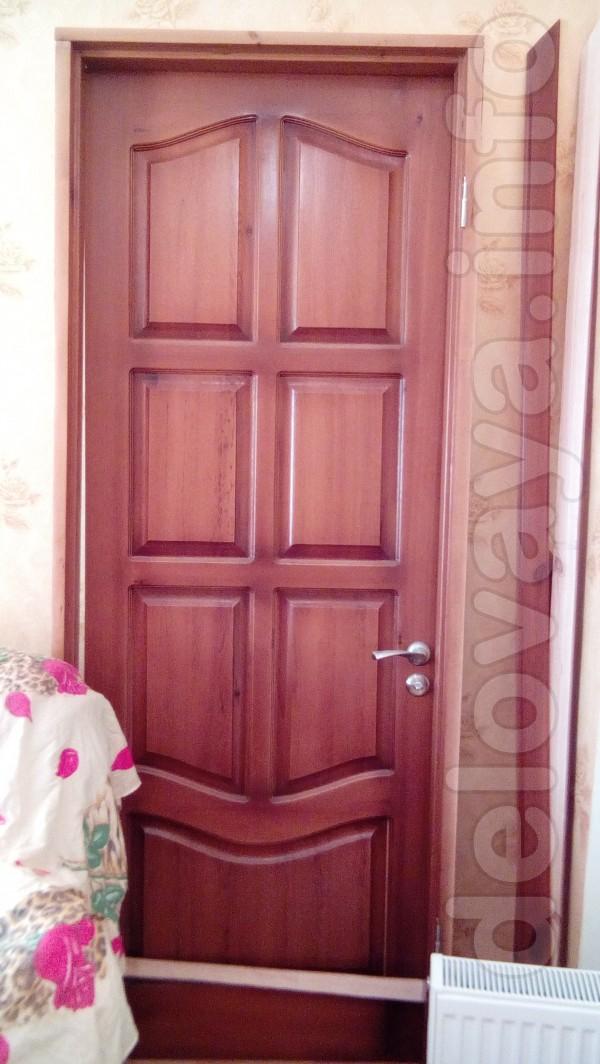 Продам деревянную дверь по оптовой цене, новая Высота полотна 217-218