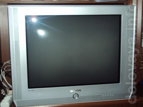 Продам телевизор Samsung 29 дюймов, плоский экран, частота экрана 100