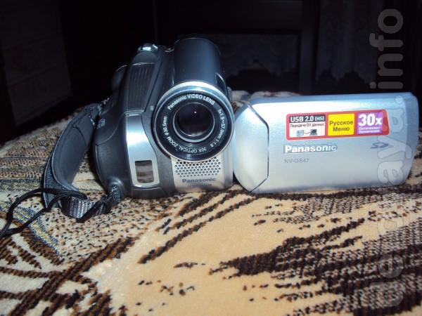 Продам цифровую видеокамеру miniDV Panasonic(пр-во Япония) требуется