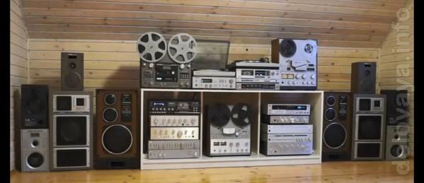 Куплю аудиоаппаратуру СССР: усилители (Барк, Бриг, Электроника, Одисс