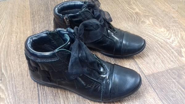 Ботиночки, ботинки Бартек Bartek полностью натуральная кожа, р. 29, с