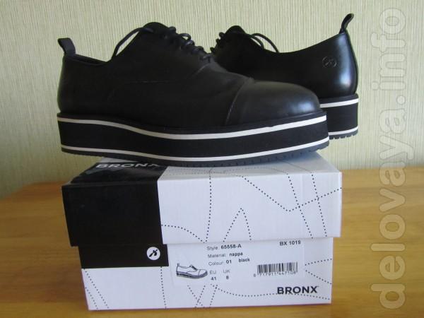 Продам новые в упаковке ботинки , натуральная кожа , размер 41, цена
