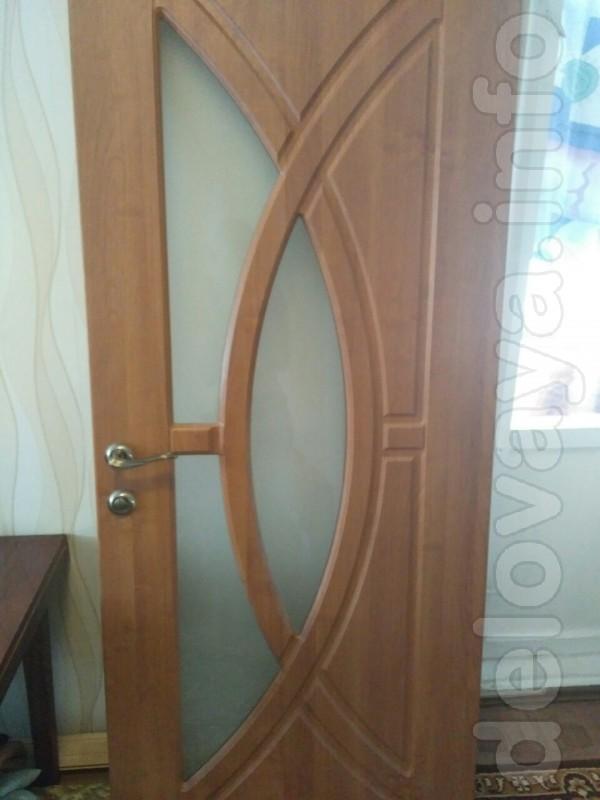 Продам дверь м/к 200*80 новую, ламинированная, с коробкой,наличниками