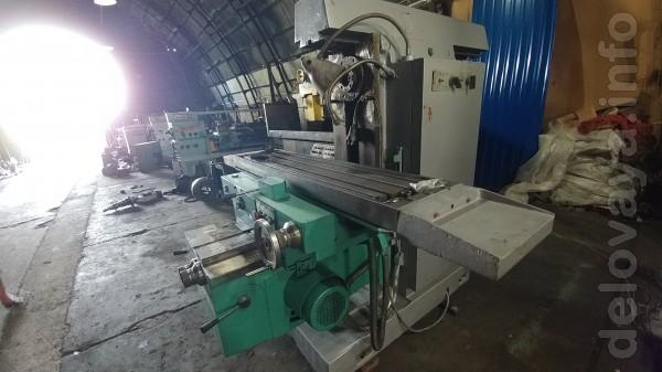ФУ321 фрезерный станок (6Р82ш) Универсально фрезерный станок Рабочая