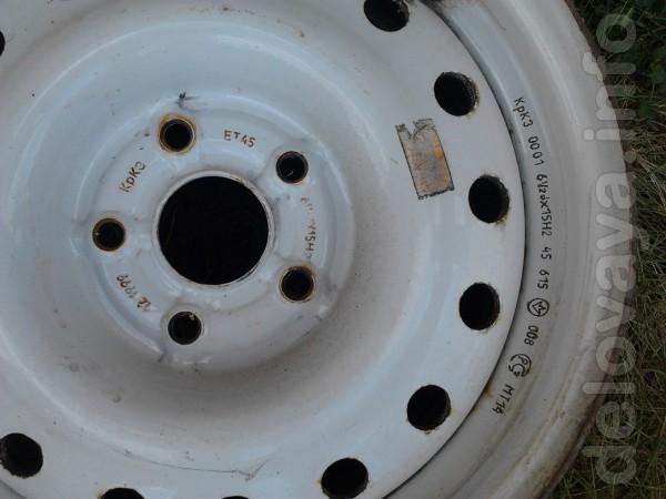 Продам диски колёсные стальные КрКЗ 15Н2х6,5J ГАЗ 3110 в отличном сос