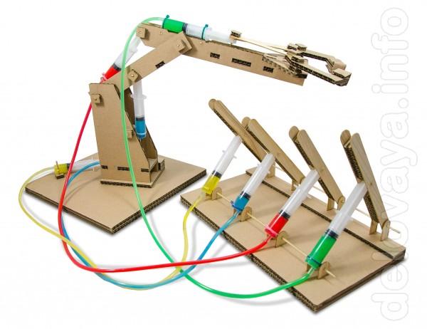 Гидравлик – это конструктор, который позволит ребенку самостоятельно