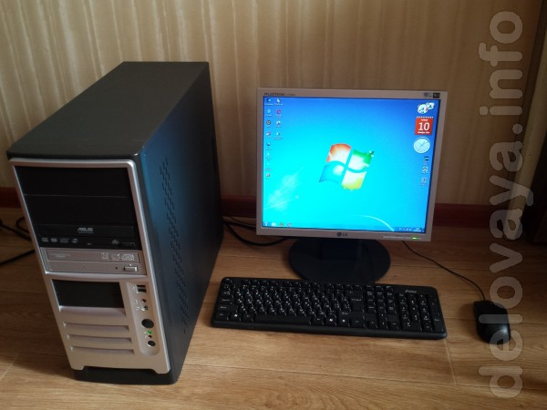 Core 2 Duo E6550 2.33Ghz, ОЗУ 2Gb, HDD 250 Gb, Video Radeon 3650 512M