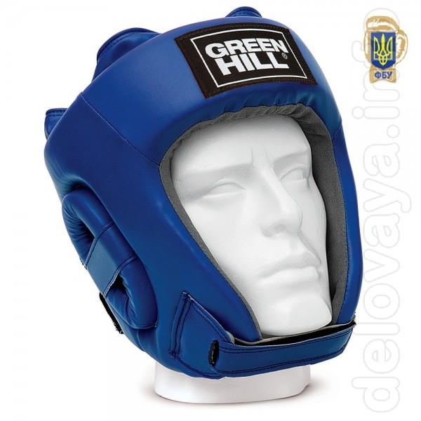 Боксерский Шлем Green hill «UBF», с печатью ФБУ Оригинальный Боевой ш
