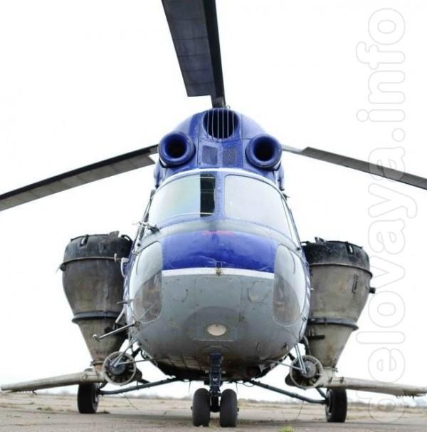 Услуги вертолета по разбрасыванию минеральных удобрений для аграриев