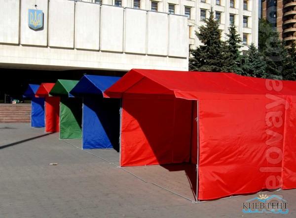 Наша компания предлагает арендовать однотонные торговые палатки. Пред