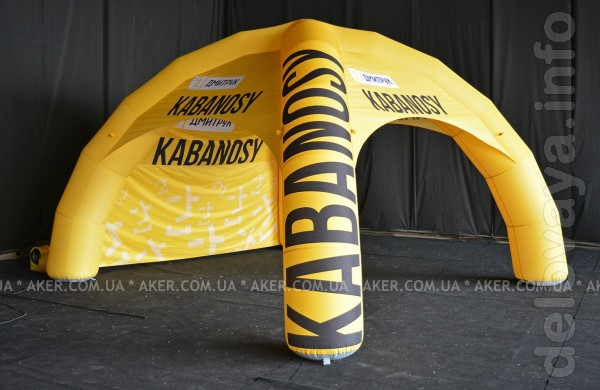 Изготовим для Вас надувные, бескаркасные, быстровозводимые палатки и