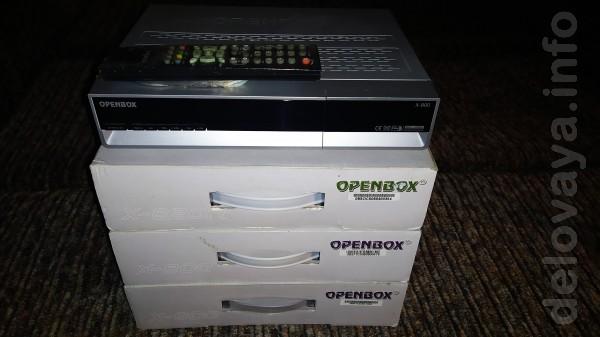Спутниковый тюнер OpenBox X-800 в комплекте пульт,кабель,инструкция.