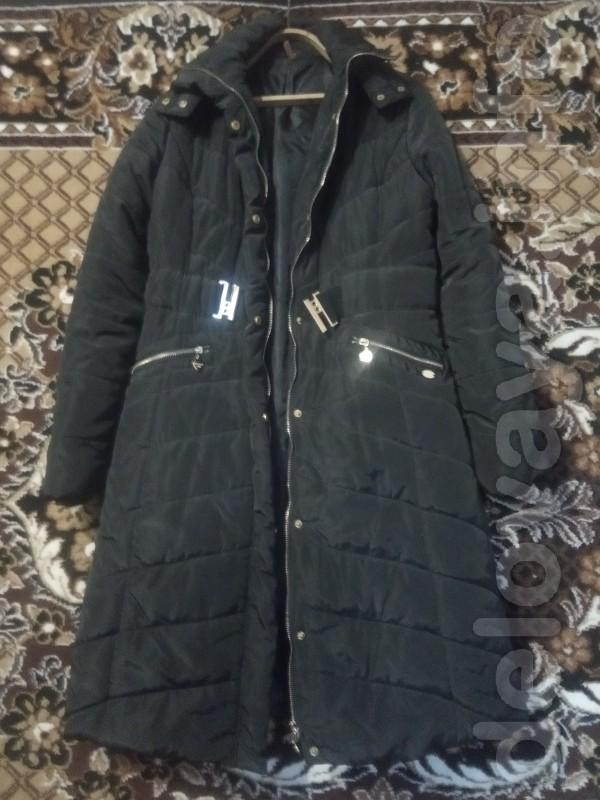 Продам пальто женское зима осень,почти новое размер 46