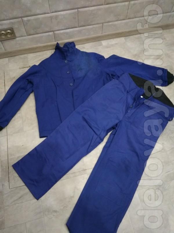 Продам спец.одежду.Костюмы х/б и брезент.Теплый костюм.Теплые штаны.Ф