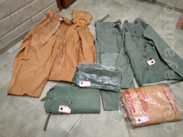 Продам костюмы резиновые и сапоги(ОЗК).