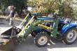 Кун для мини-трактора с джойстиком DongFeng-244.