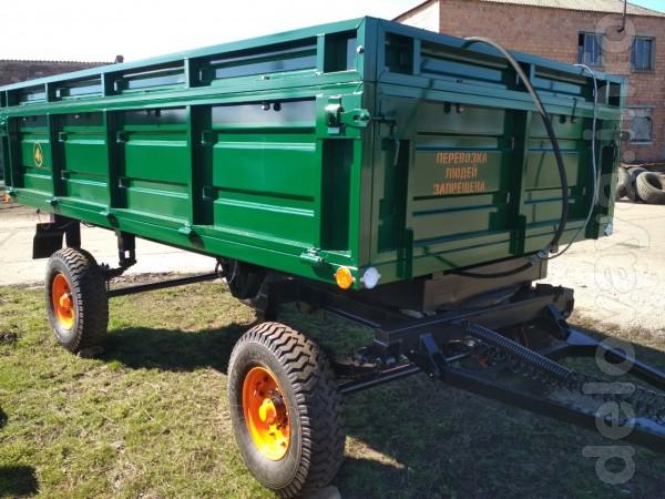 В наличии. Прицеп тракторный 2ПТС-4 предназначен для перевозки различ