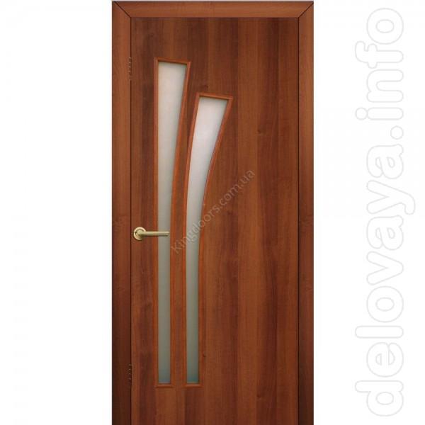 Межкомнатные двери, торговой марки 'Омис' МДФ, МДФ+ПВХ покрытие, грун