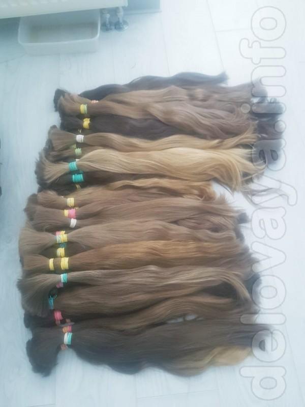 Волосы славянские для наращивания! В наличии на фабрике волос имеютс