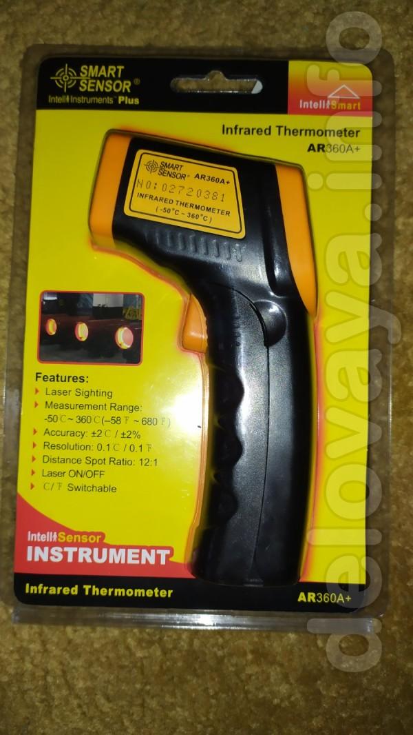 продам  новый пирометр инфокрасный(термометр)  модель: 'AR360A+' SMAR