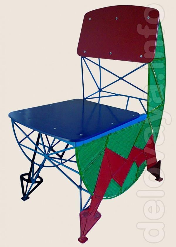 Продам стул металлический ручной работы (hand-made). Размеры стула: в