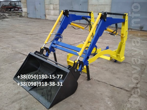 Фронтальный погрузчик для мини трактора – это дополнительная навесная