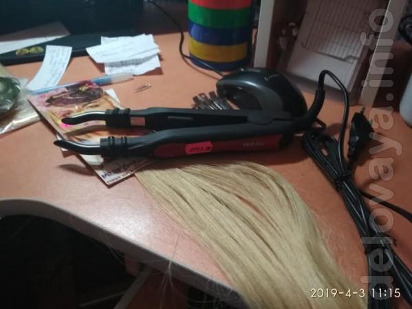 Волосы - Славянские и Европейские, Китай. Капсулы, трессы и т. д.