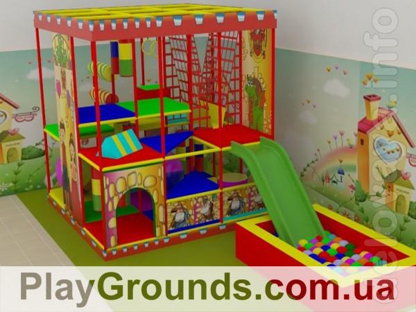 Предлагаем строительство детских игровых комнат « под ключ». Индивиду