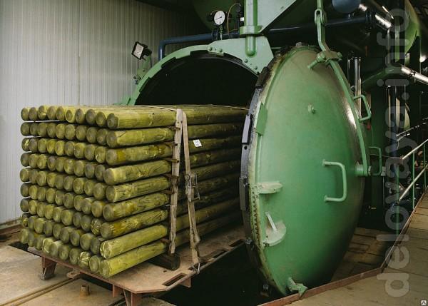 Автоклавы для глубокой пропитки (импрегнации) древесины. Разные объем