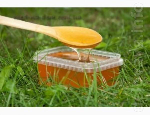 Продам мед бджолиний соняшниковий із власної пасіки Пакування- скляна