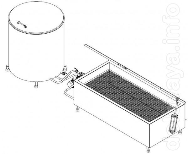Технічні характеристики: 1. Габаритні розміри пастеризатора (ШхВхД) –