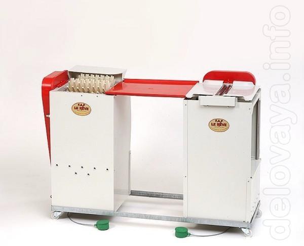 Перосъемная машина произведена французской компанией FAF, что гаранти