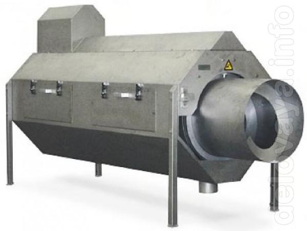 Сепаратор служит для отделения воды от кишок после процесса потрошени