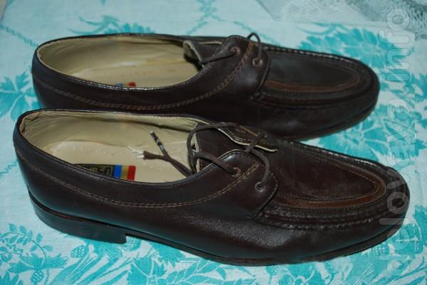 Продам новые мужские кожаные  туфли р.43, пр-во Египет.  Очень удобны