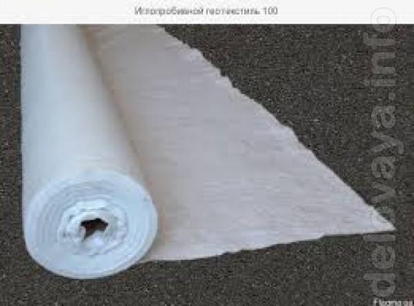 Геотекстиль представляет собой искусственную ткань, изготавливаемую и