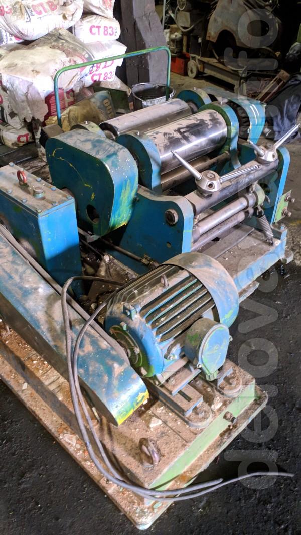 Вальцы с-3511 диаметр валка 160 мм. Длина валка 400 мм. Пресс вулк