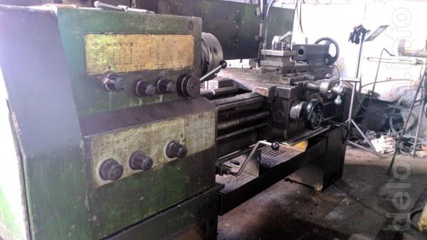 1В62г станок токарно винторезный 1995г. Длина обработки 1000 мм. В ра