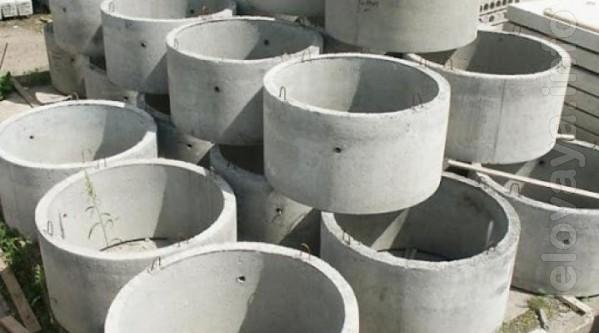 Бетонные кольца предназначены для сооружения смотровых, водоотводных