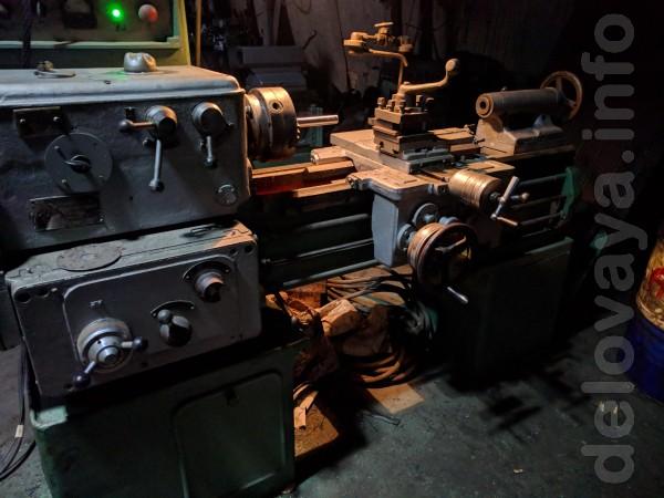 1А616 токарный станок в хорошем рабочем состоянии, подключен