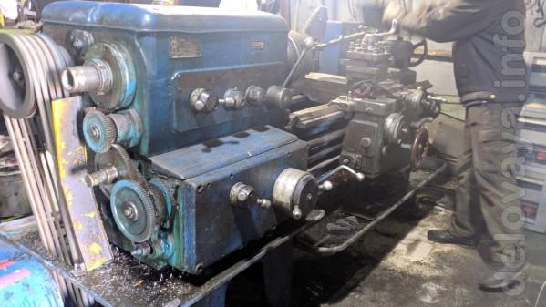 1К62 станок токарно винторезный 1981г. РМЦ 1000 мм. рабочий,родключе