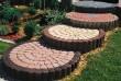 Бордюрный столбик (бордюр садовый)